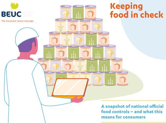 Investigación de BEUC sobre los controles alimentarios