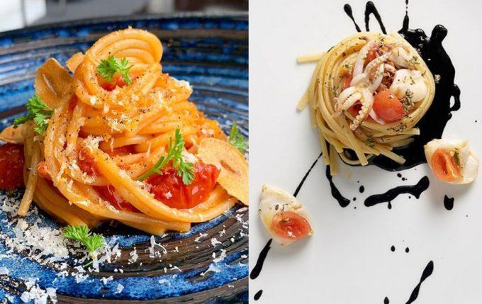 Lita de restaurantes Bib Gourmand italianos