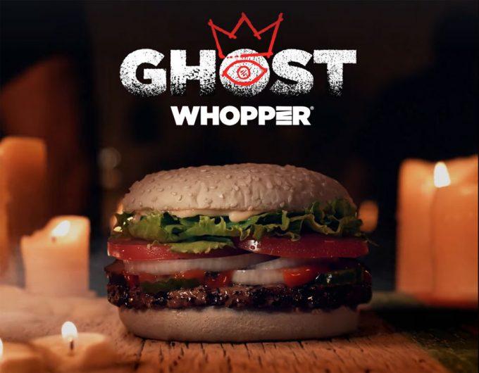 Hamburguesas para Halloween de Burger King