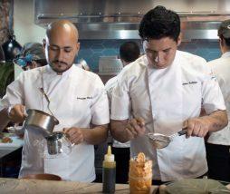 Chefs Jaime Rodríguez y Sebastián Pinzón