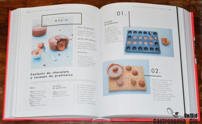 Libro de pastelería Ducasse