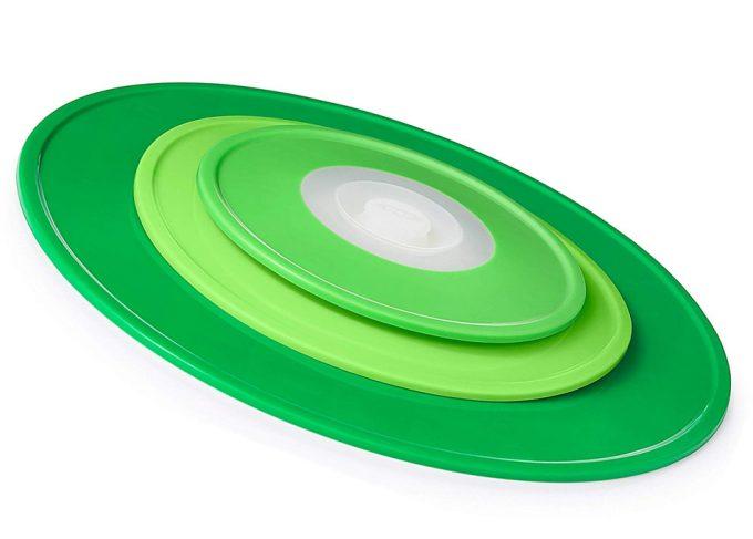 Tapas de silicona reutilizables