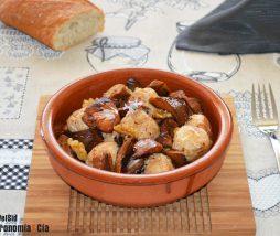 Recetas de carne con setas