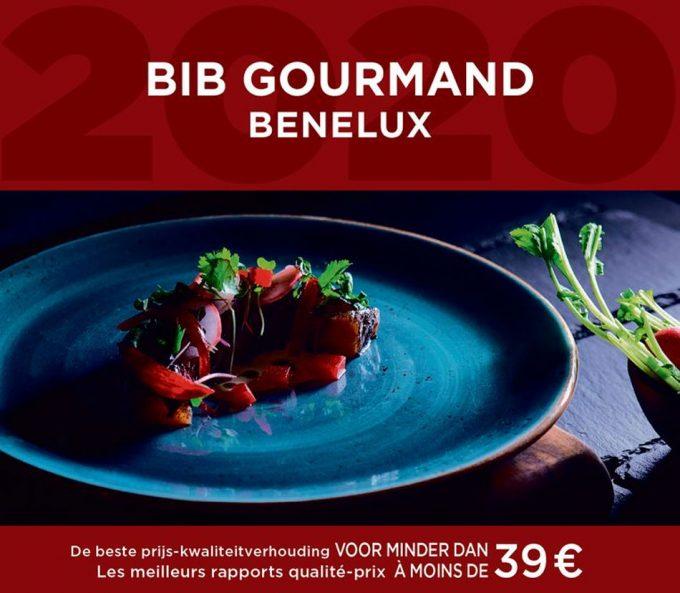 Restaurantes Bib Gourmand de Bélgica, los Países Bajos y Luxemburgo