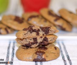 Galletas keto (sésamo y chocolate)