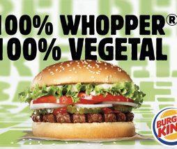 Hamburguesa vegetariana de Burger King