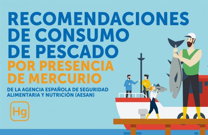 Límites del consumo de pescado por riesgo de metilmercurio