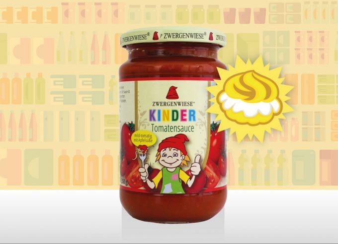 Salsa de tomate infantil Zwergenwiese