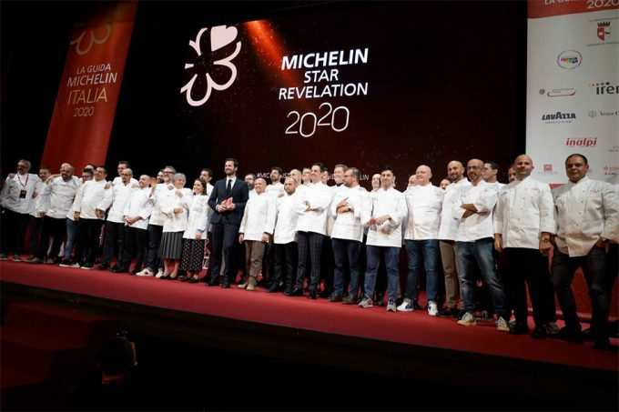 Restaurantes con estrella Michelin en Italia