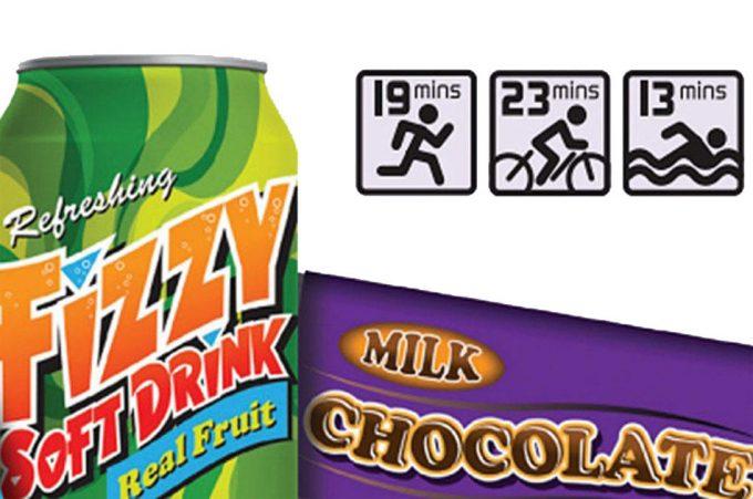 Información de las calorías en los alimentos
