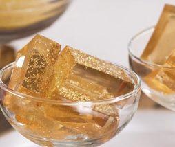 Vídeo receta gelatina de vino espumoso