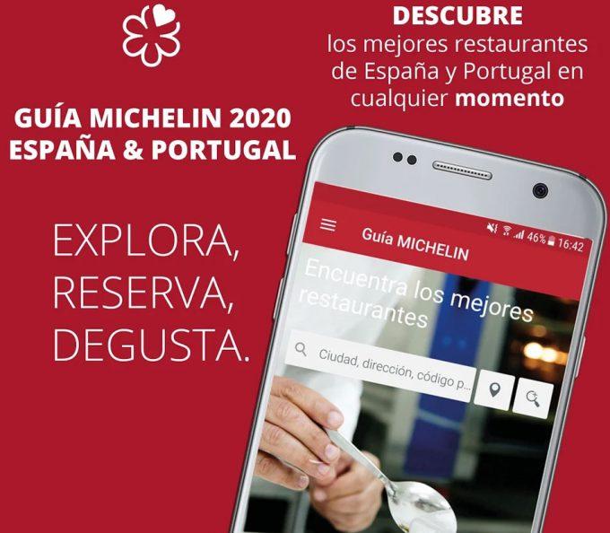 App restaurantes Michelin en España