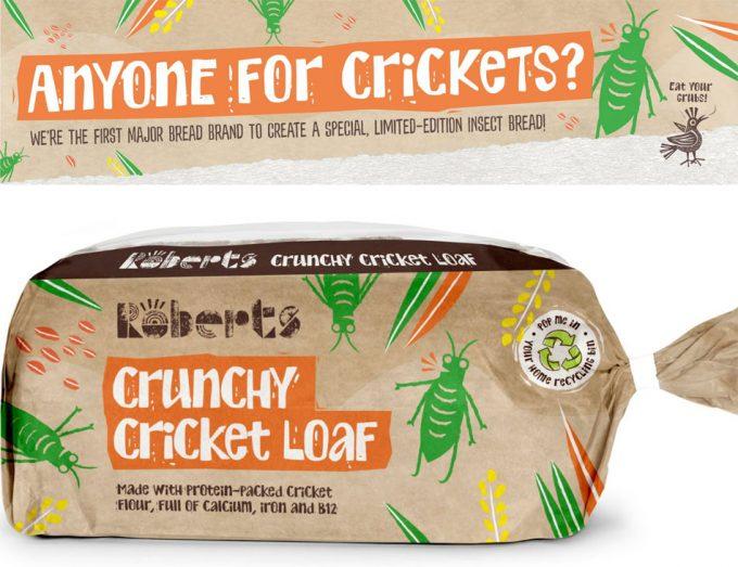 Pan Crunchy Cricket Loaf