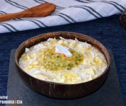 Receta de porridge energético