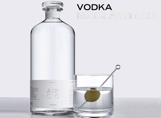 Vodka que se elabora con dióxido de carbono