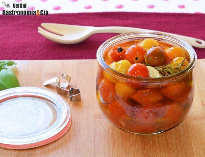 Cómo cocinar tomates cherry