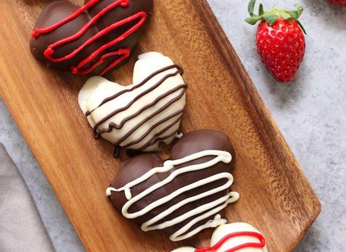 Corazones De Fresa Y Chocolate Para Regalar Bombones Saludables En San Valentín Gastronomía Cía