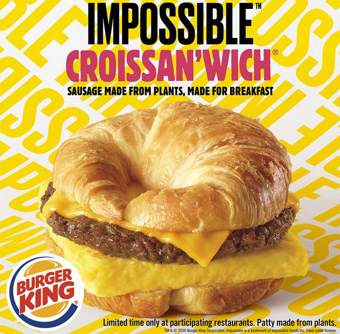 Nuevo desayuno de Burger King