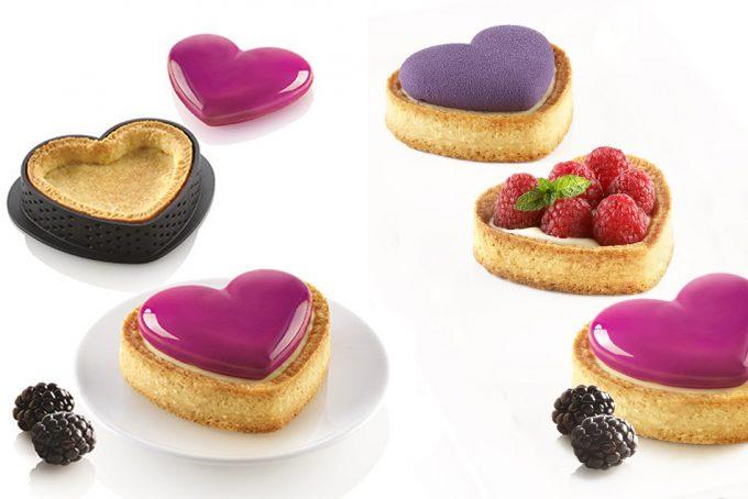 Molde para pastelitos perfectos en San Valentín