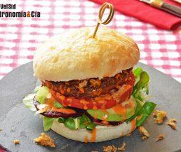 Receta de hamburguesa vegetariana