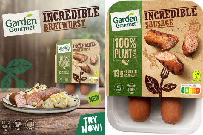 Salchichas vegetales de Nestlé