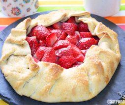 Galette, una tarta con una base crujiente que puede ser salada o dulce
