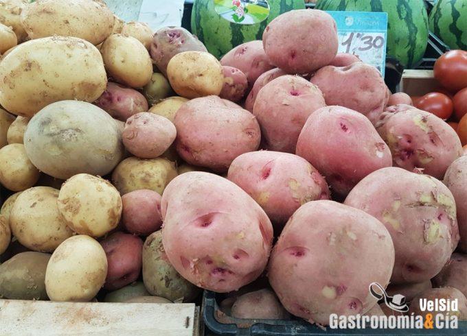 Precios especulativos con las patatas
