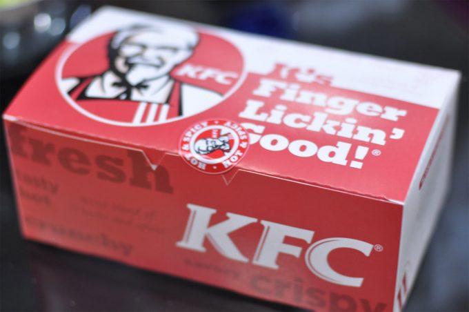 Pollo de Kentucky Fried Chicken