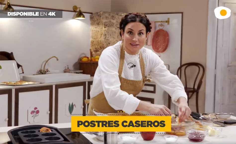 Postres Caseros De Amanda Laporte Estreno De La Segunda Temporada En Canal Cocina Gastronomía Cía