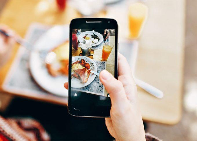 Influencia de Instagram en la alimentación
