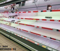 Desabastecimiento de alimentos por el COVID-19