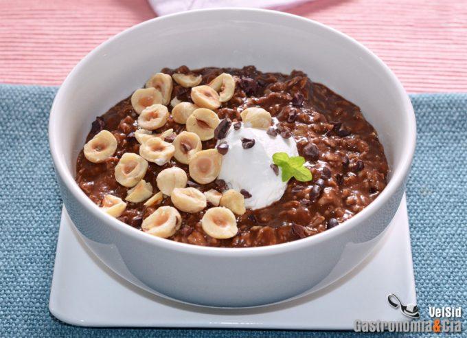 Porridge en microondas