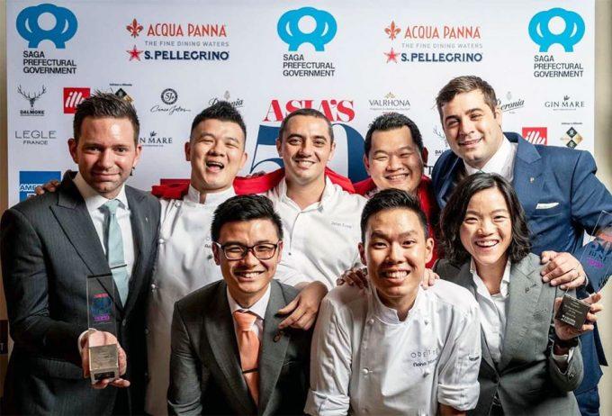 Restaurante Odette, Mejor Restaurante de Asia 2020