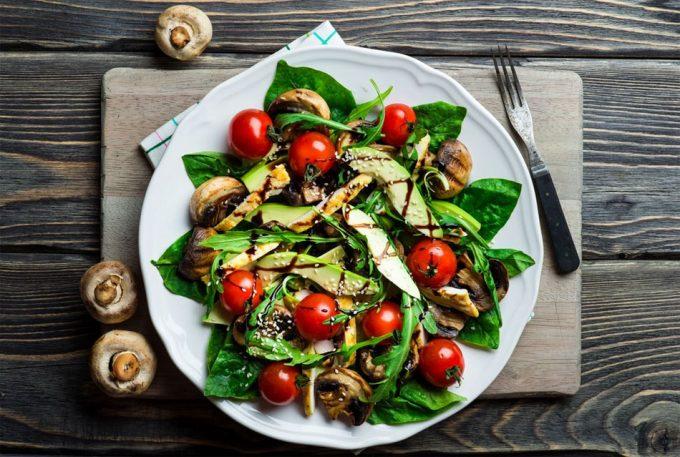 Abuso de la sal en alimentos vegetarianos
