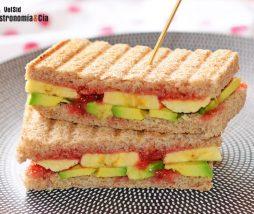 Receta de sándwich saludable