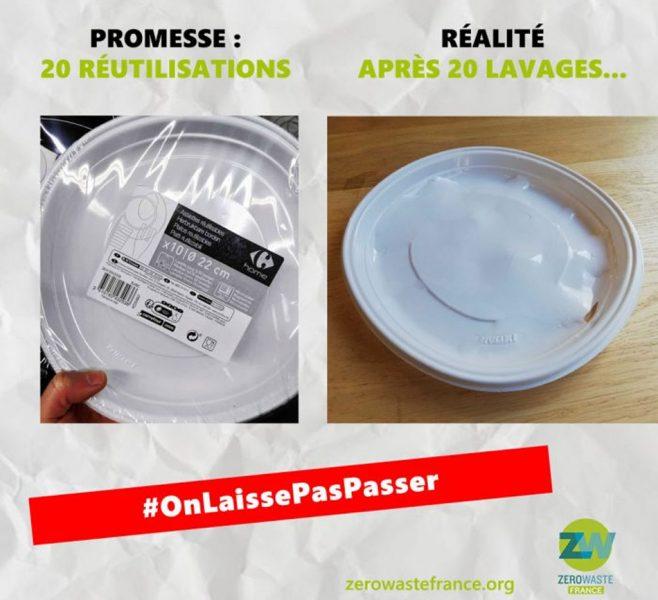 Prohibido el uso de plástico desechable