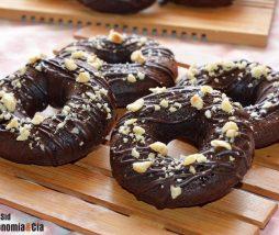 Receta de donuts de chocolate