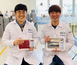 Etiqueta fabricada con nanofibras para controlar la cadena de frío
