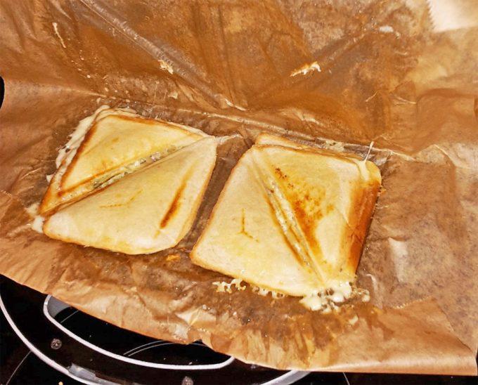 Truco para  no ensuciar si te haces un sándwich
