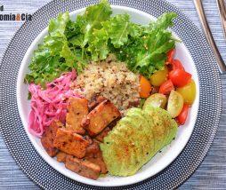 Ensaladas con proteínas