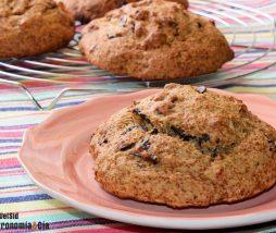 Versión ligera y más saludable de las galletas con pepitas de chocolate