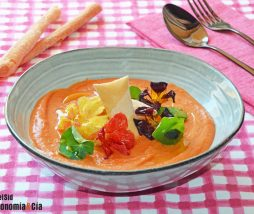 Crema de tomate para verano