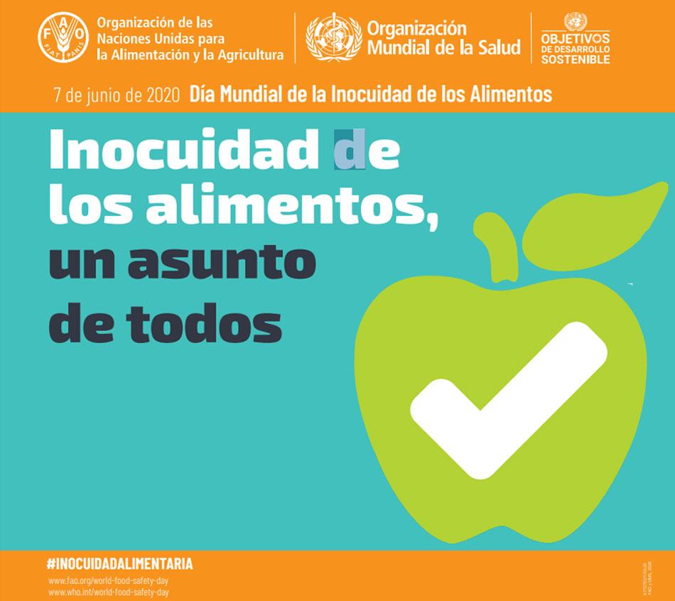 Dia Mundial De La Inocuidad De Los Alimentos 2020 Gastronomia Cia