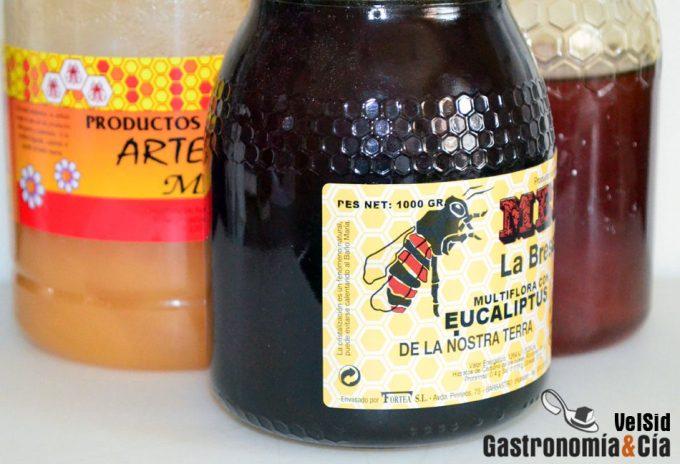 Mezclas de miel