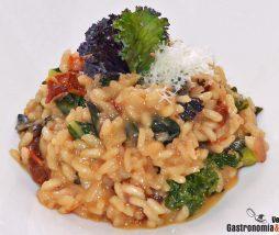 Receta de risotto con verduras