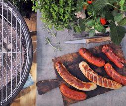 Salchicha, bratwurst, frankfurt, hot dog