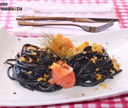 Spaghetti con le briciole