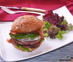 Receta de hamburguesa casera