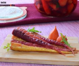 Zanahorias encurtidas