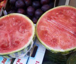 Comprar sandía o melón cortado